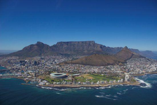 Ultimative Safari im südlichen Afrika - Kapstadt von oben