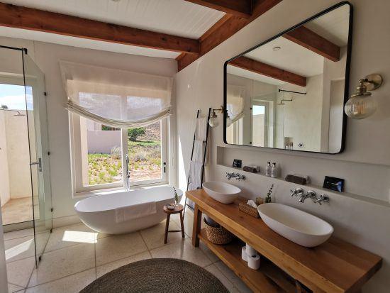 Salle de bain au Cederberg Ridge Wilderness Lodge