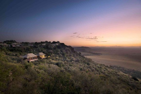 Angama Mara Tented Camp in Kenya is a great destination for African Travel In October.