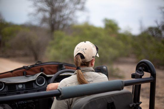 For Women's History Month we're focusing on the women in safari today.