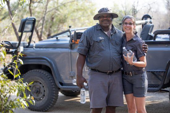 Women in safari transcends the rules previously laid out for them