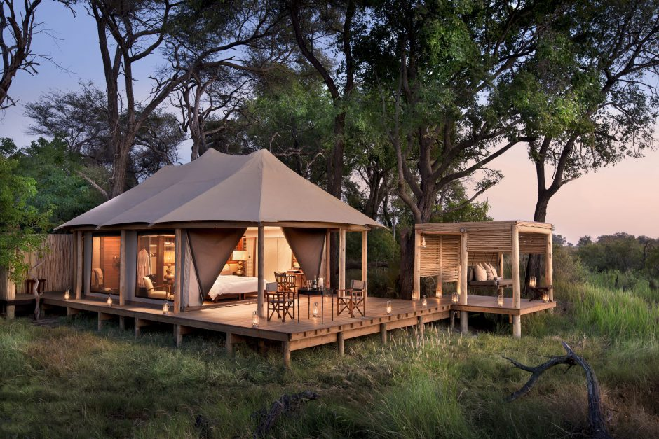 Nxabega Okavango Tented Camp in the Okavango Delta