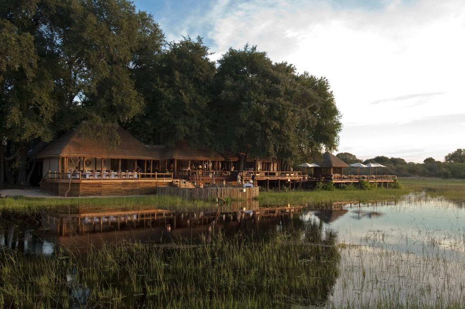 Sanctuary Chief's Camp in the Okavango Delta