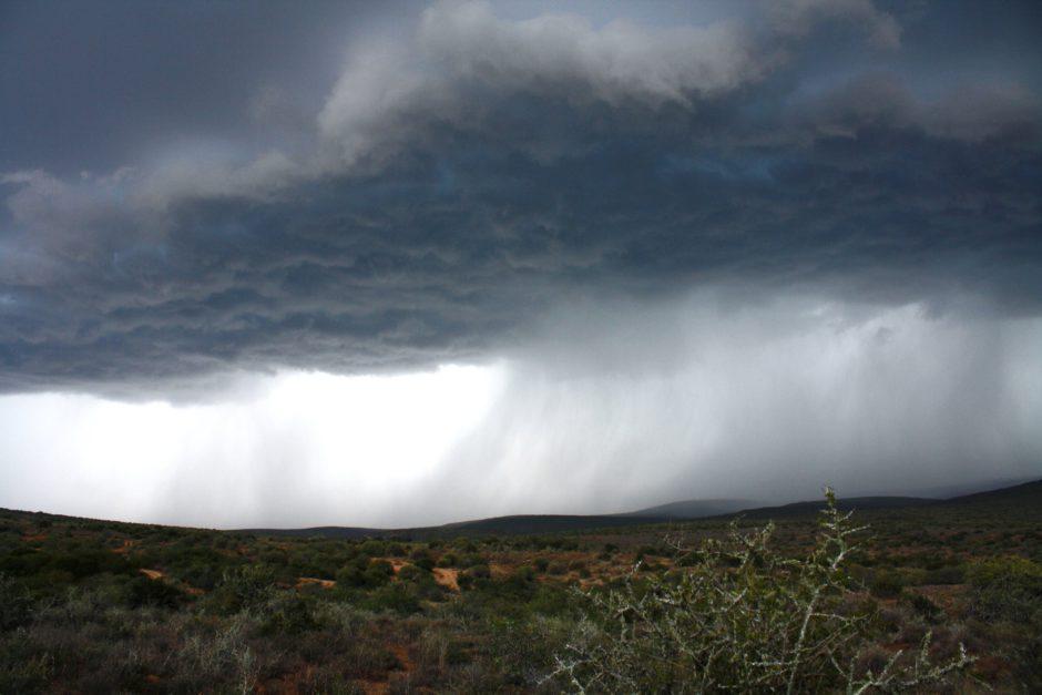 Dramatic rain drop in Kwandwe