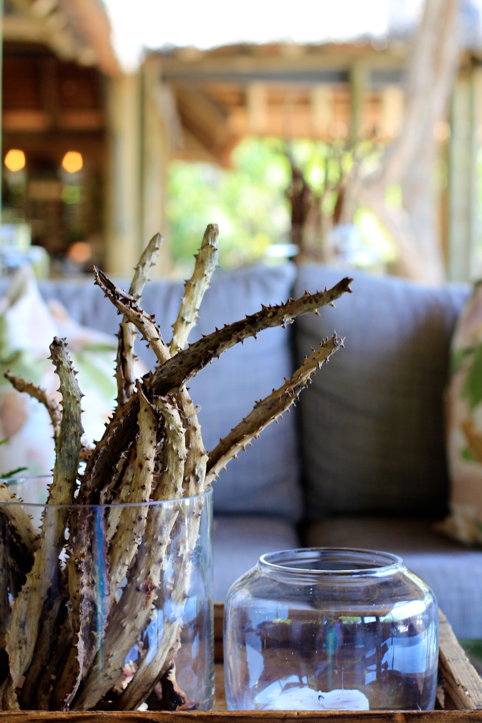 Small ornamental touches in Thornybush Game Lodge