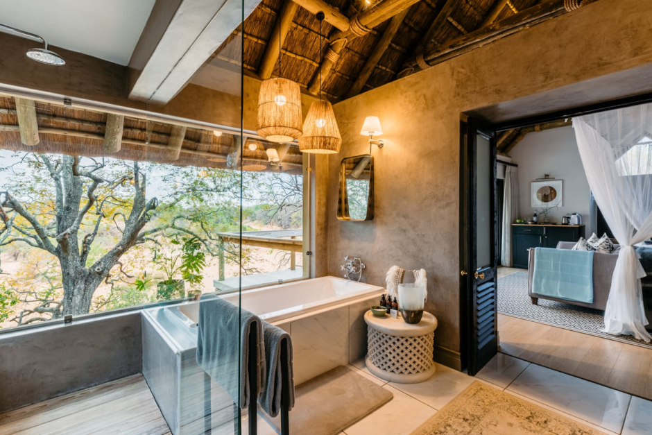 Bathroom at Thornybush Game Lodge