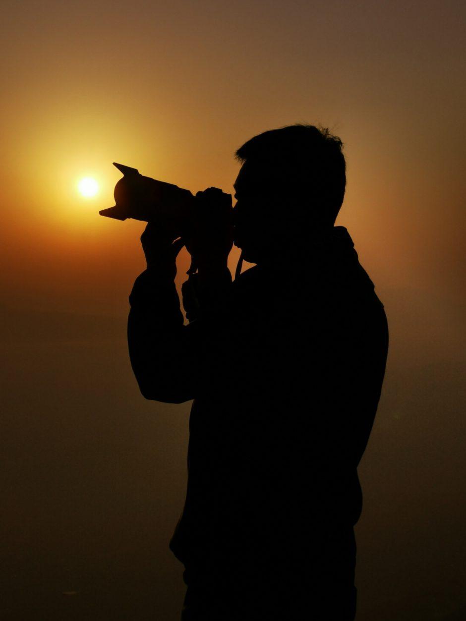 photographer-silhouette-sunset