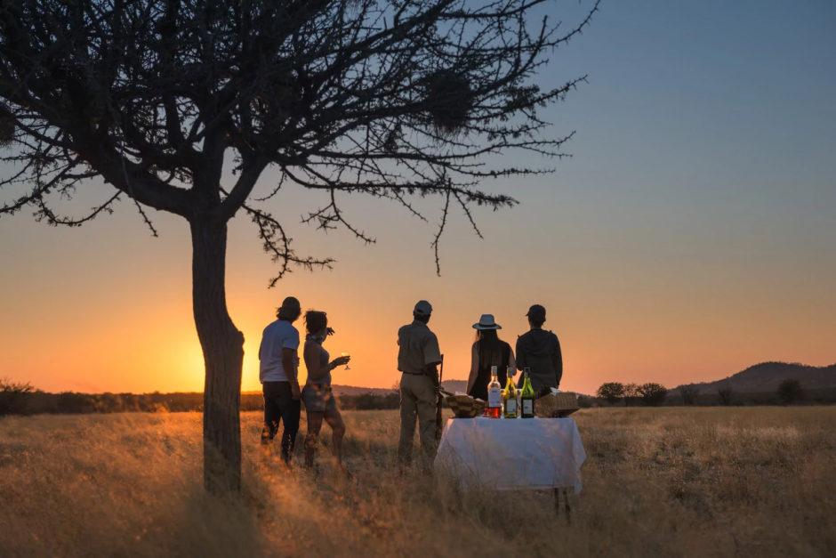 Os amplos espaços abertos da Namíbia a tornam o destino isolado perfeito para lua de mel