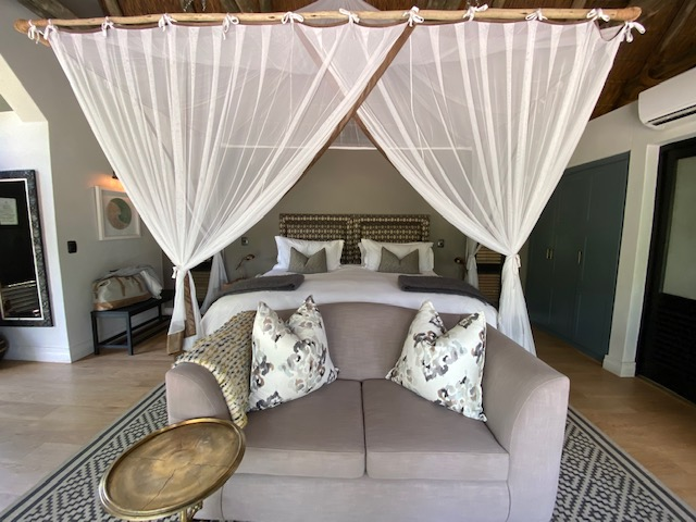 Suite in der Thornybush Game Lodge