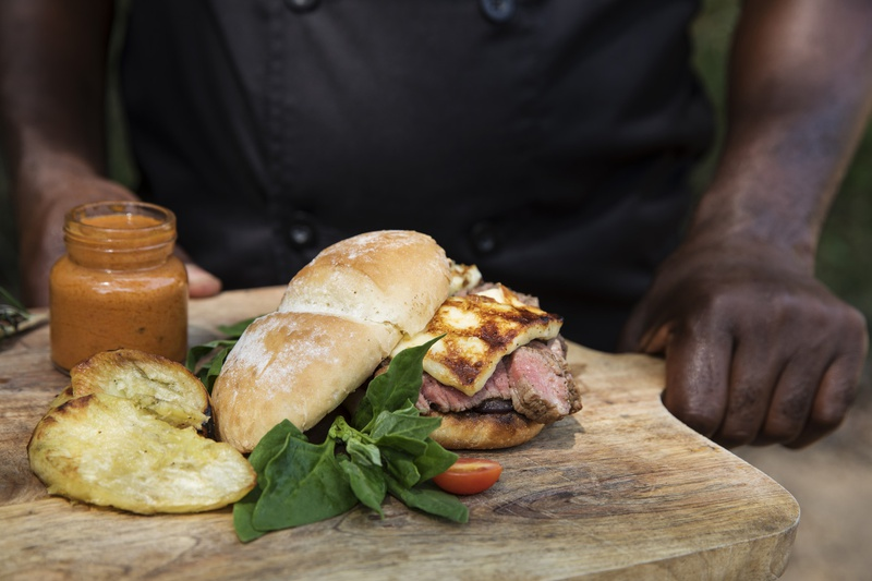 An authentic South African culinary experience at Klaserie Sands Safari Trails Camp