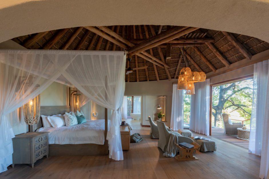 Les chambres du Dulini River Lodge sont spacieuses et bien équipées