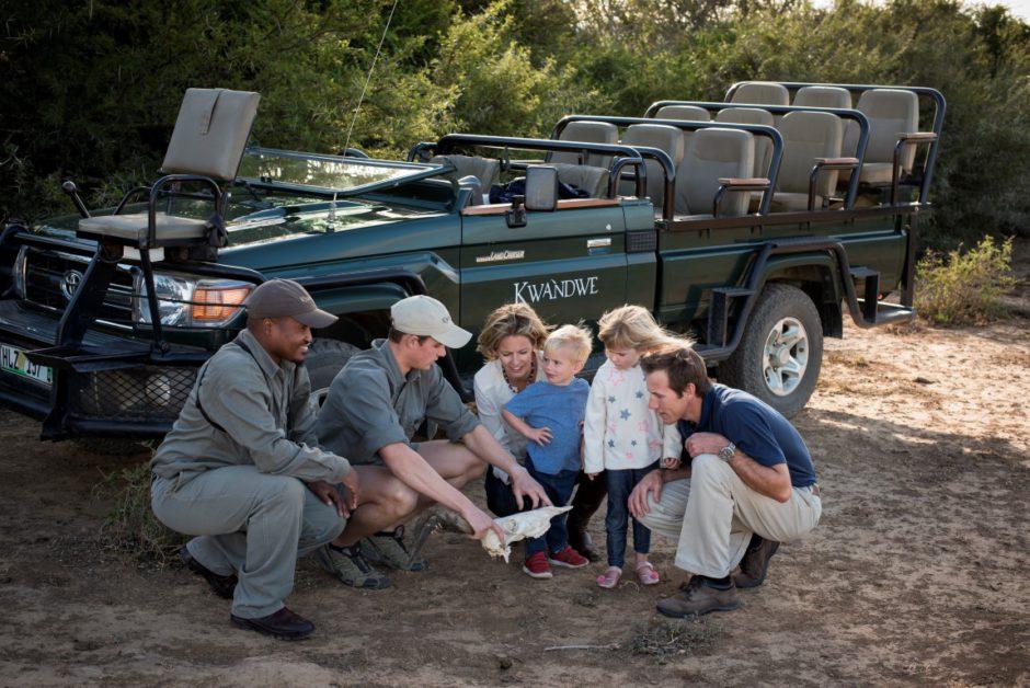 Gemeinsam mit den Kindern die südafrikanische Natur im Kwandwe Private Game Reserve erkunden
