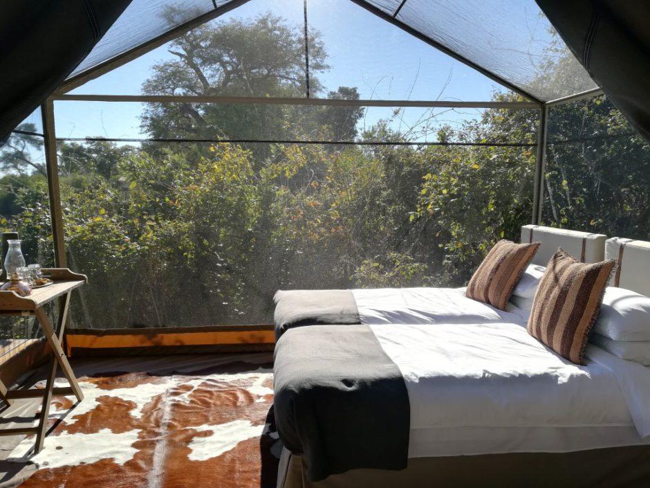 Chaque tente a une partie gazebo - African Bush Camps