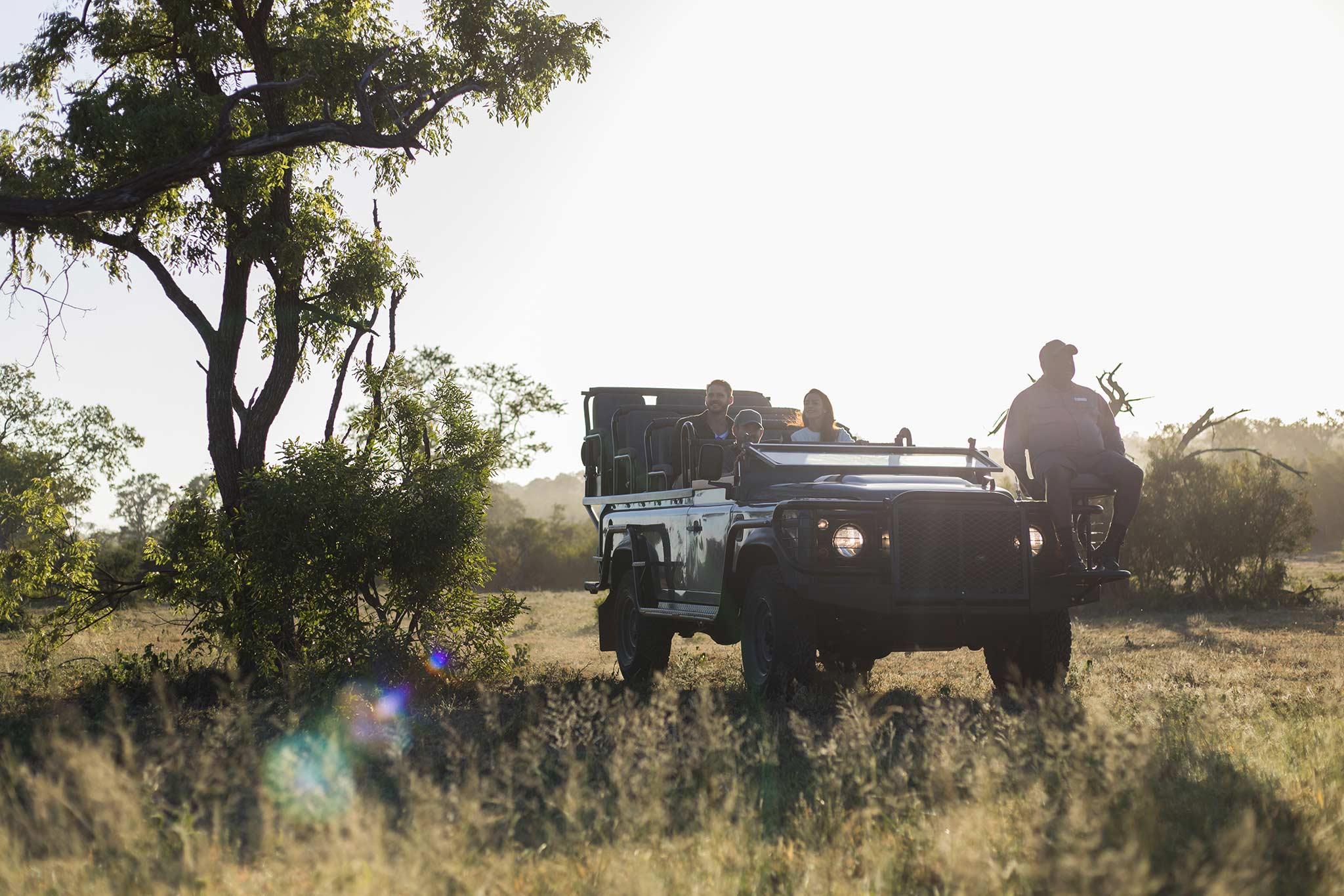 Safari por la mañana temprano en Silvan Safari